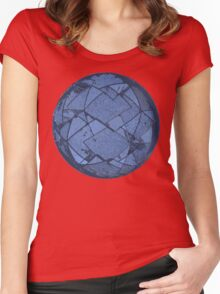 The Geo Sphere Women's Fitted Scoop T-Shirt
