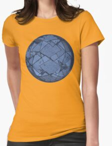 The Geo Sphere Womens Fitted T-Shirt