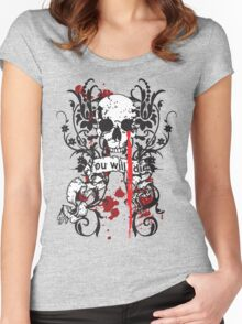 You Will Die Women's Fitted Scoop T-Shirt