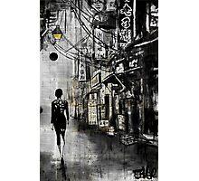 china town walk Photographic Print