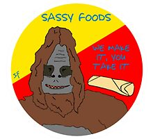 Sassy Foods The Big Lez Show by TaneCase