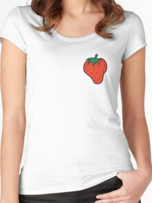 Superfruit Strawberry Women's Fitted Scoop T-Shirt