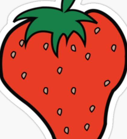 Superfruit Strawberry Sticker