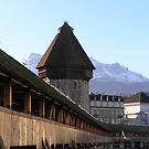 The Kapellbrucke, Lucerne by mochamocha