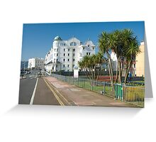 Waterside Apartments Greeting Card