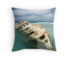 The Wreck1 Throw Pillow