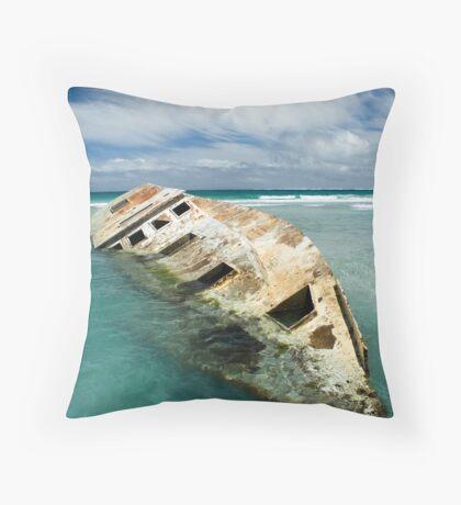 The Wreck1 Throw Pillow