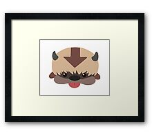 Appa - Cartoon (no outline) Framed Print