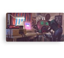 Hacking The Loop Canvas Print