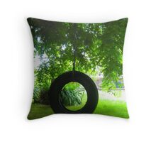 Early Swing Throw Pillow
