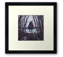 Vagabonds - The Crow Framed Print