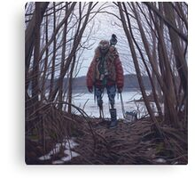 Vagabonds - The Crow Canvas Print