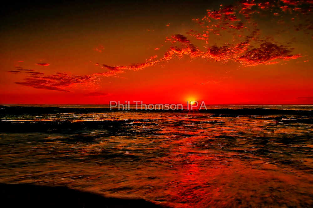"""Sunrise at Cathedral Rock"" by Phil Thomson IPA"