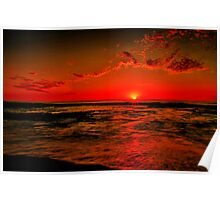 """Sunrise at Cathedral Rock"" Poster"