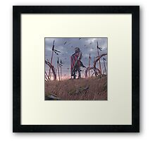 Vagabonds - The Lord With The Ice Cream Umbrella  Framed Print