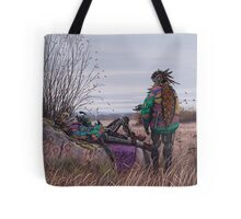 Vagabonds - The Magpie Charmer And Bub Tote Bag