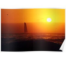 golden sails Poster
