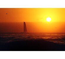 golden sails Photographic Print