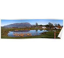 Panaromic MT Roland, Tasmania - Just outside of Sheffield Poster