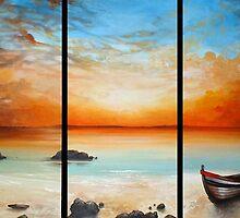 Boat on the Beach by Cherie Roe Dirksen