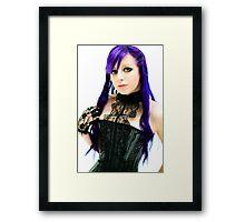 Purple Phase Framed Print