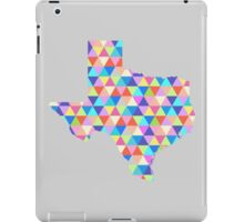 Texas Geometric Colorful Triangles Hipster Texas iPad Case/Skin