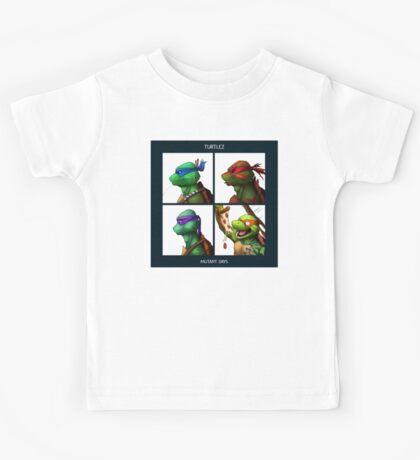 Turtlez - Mutant Days Kids Tee