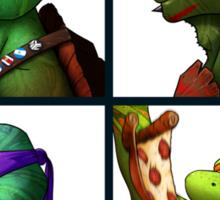 Turtlez - Mutant Days Sticker