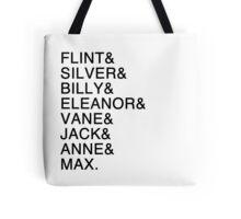 The Nassau Crew (Black Sails) Tote Bag