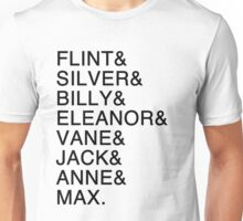 The Nassau Crew (Black Sails) Unisex T-Shirt