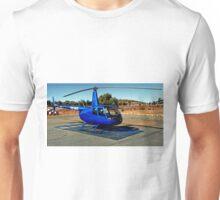 Blue Chopper Unisex T-Shirt