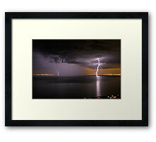 Lightning 01 Framed Print