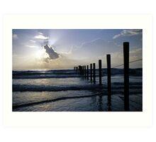Atlantic Coast at Sunrise Art Print