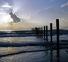Atlantic Coast at Sunrise by mklue