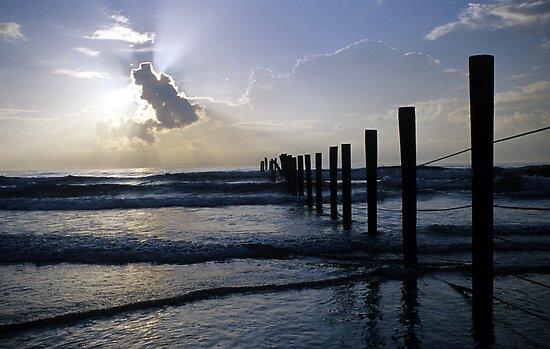 Atlantic Coast at Sunrise by mklue