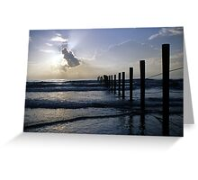 Atlantic Coast at Sunrise Greeting Card