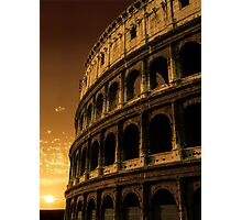 colosseum sunrise Photographic Print
