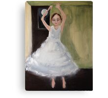 Twirling Canvas Print