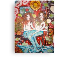 Mermaids Treasure  House   Canvas Print