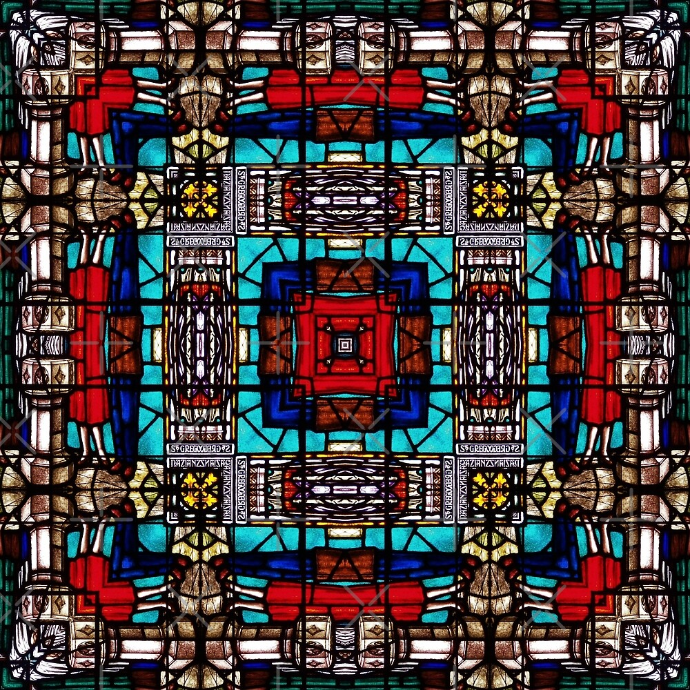 Stained Glass 1 by Yampimon