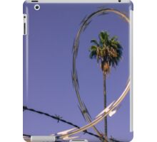 Palm Tree in Barbed Wire iPad Case/Skin