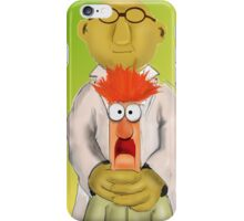 Bunsen and Beaker iPhone Case/Skin