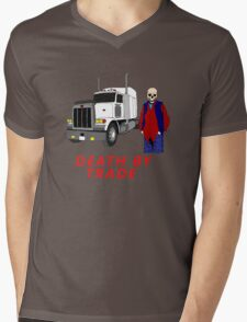 death by trade truck driver Mens V-Neck T-Shirt