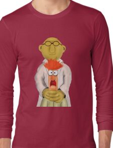 Bunsen and Beaker Long Sleeve T-Shirt
