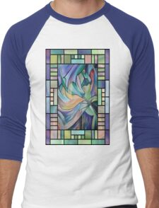 Art Nouveau Belly Dance Men's Baseball ¾ T-Shirt