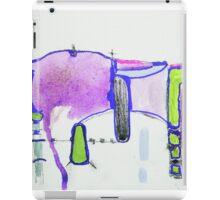 Memory Trace 2 Purple iPad Case/Skin