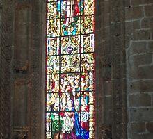 Lisbon - Igreja da Sta Maria - a window by presbi