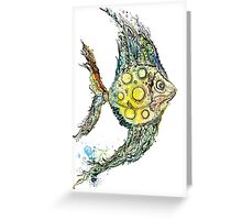 Watercolor fish illustration Greeting Card