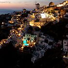 NIGHT IN GREECE by Scott  d'Almeida