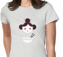 Chinese Miso Girl Womens Fitted T-Shirt